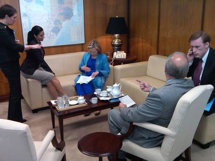 Behind the Scenes: Secretary Clinton in Brazil