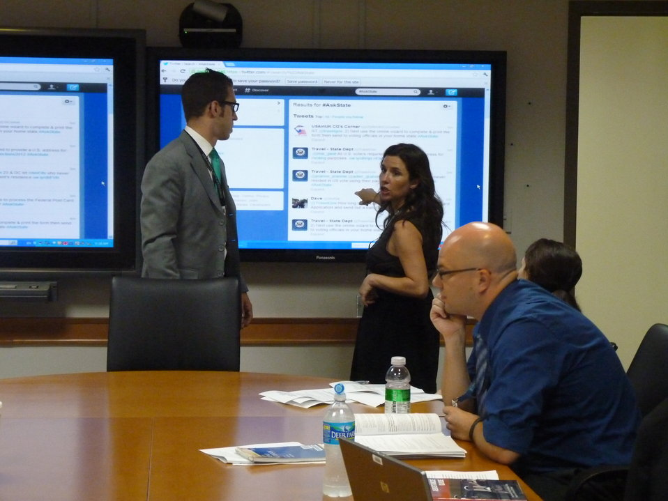 Twitter QandA on Absentee Voting Information for U.S. Citizens Abroad