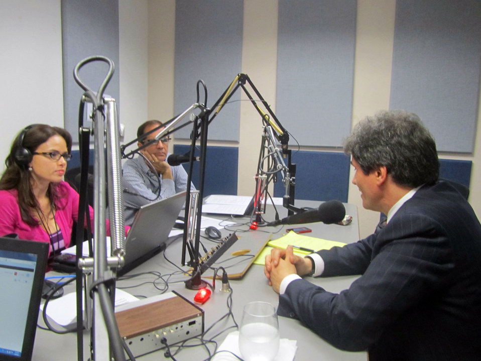 Assistant Secretary Fernandez Participates in an Interview With Radio Actualidad