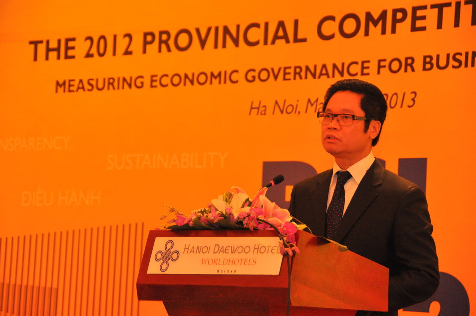 Provincial Competitiveness Index Launch, March 14, 2013