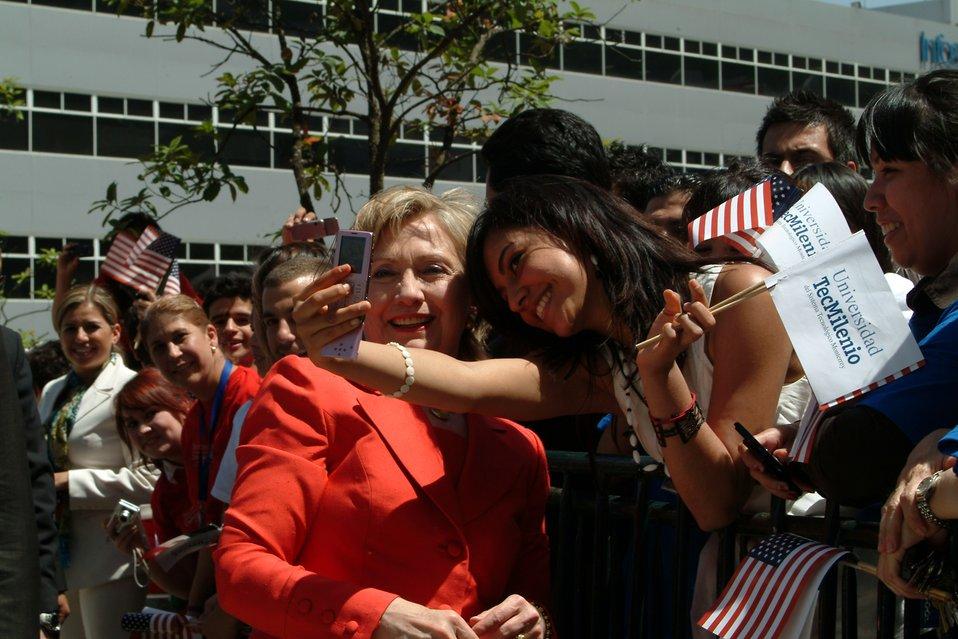 Secretary Clinton at TecMilenio University