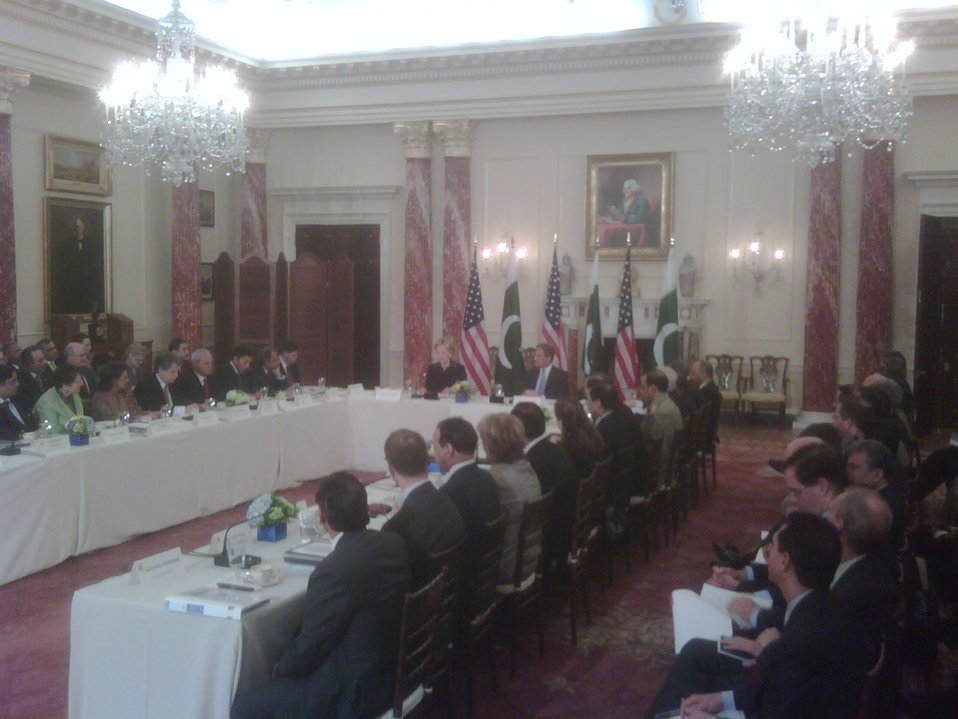 Opening of the U.S. Pakistan Strategic Dialogue Meeting