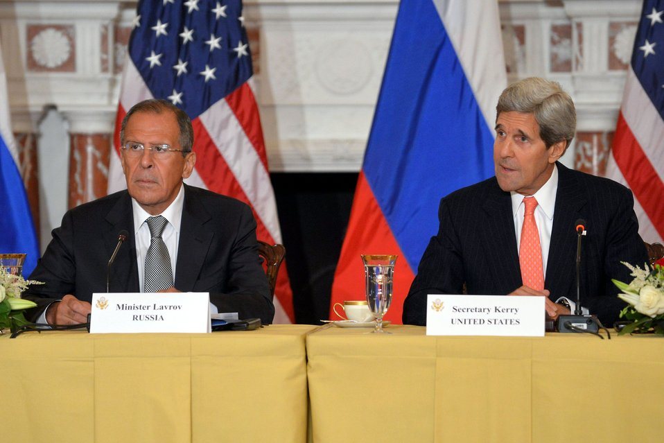 Secretaries Kerry and Hagel Meet With Russian Ministers Lavrov and Shoygu
