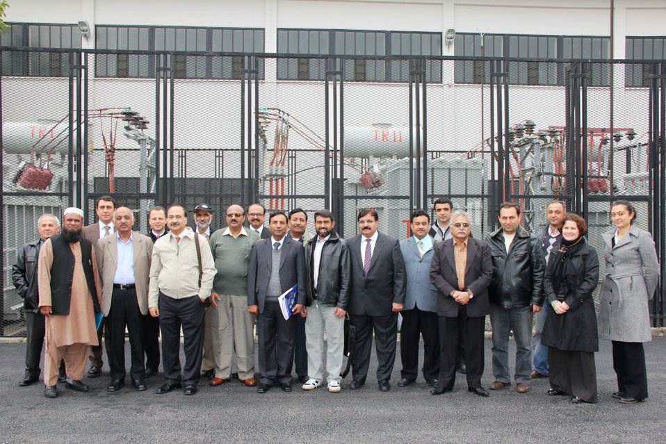 17 Nov - Delegation to Turkey under Utility Exchange Program- AYEDAS substation