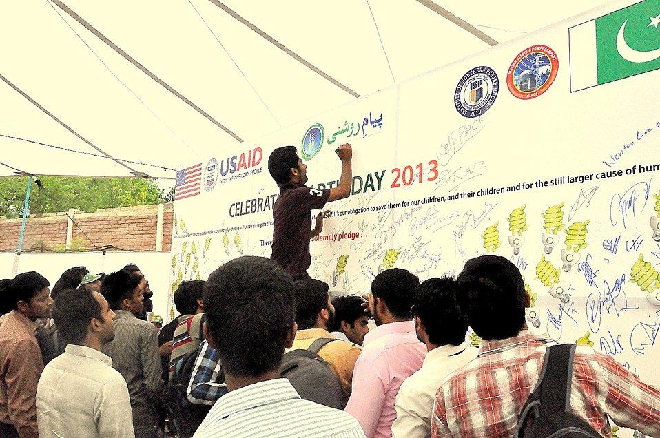 USAID celebrates Earth Day 2013