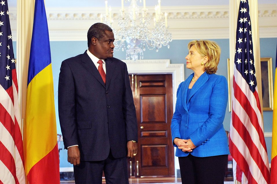 Secretary Clinton Meets With Minister of Foreign Affairs and African Integration of the Republic of Chad