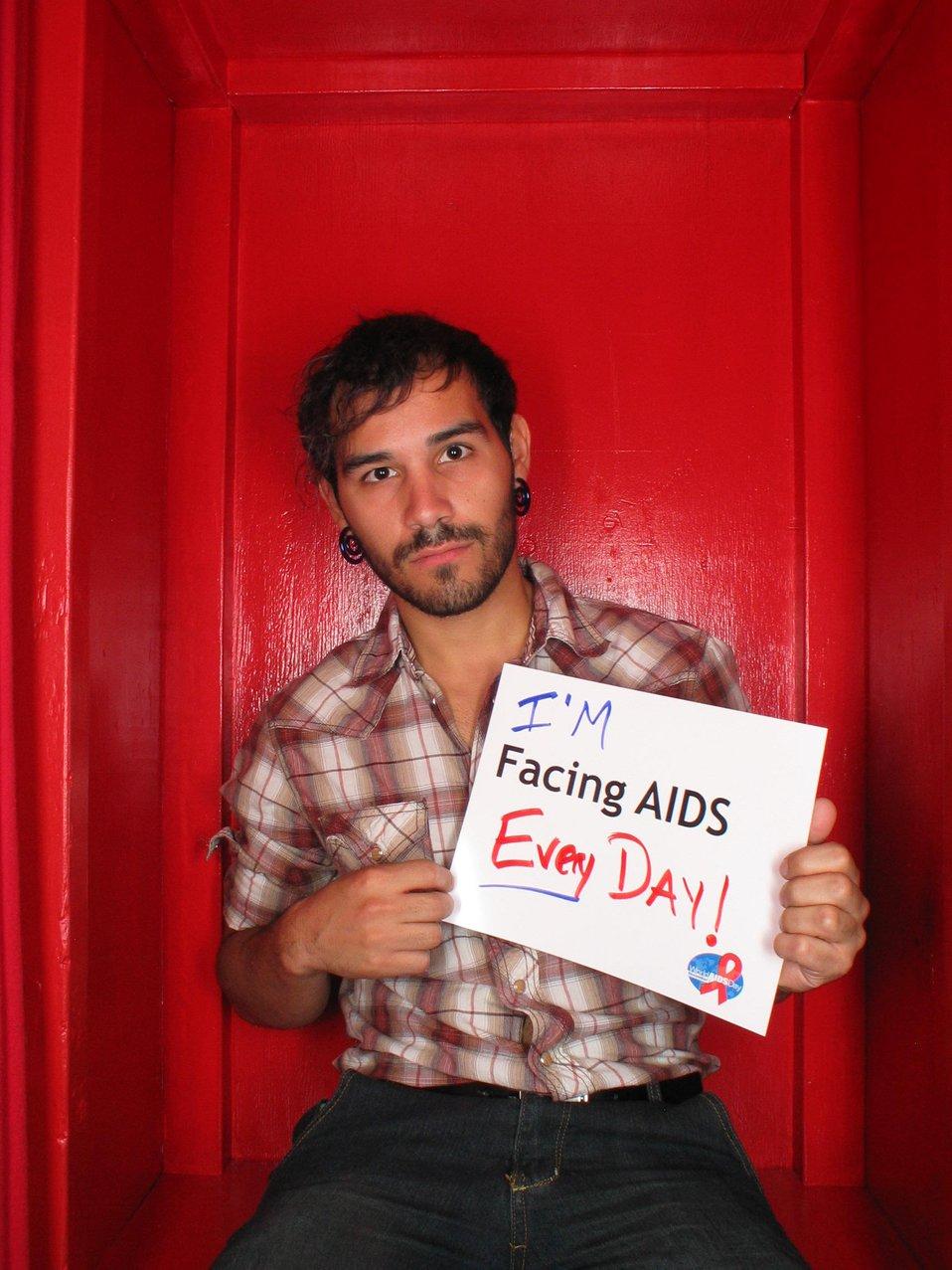 I'm Facing AIDS everyday!