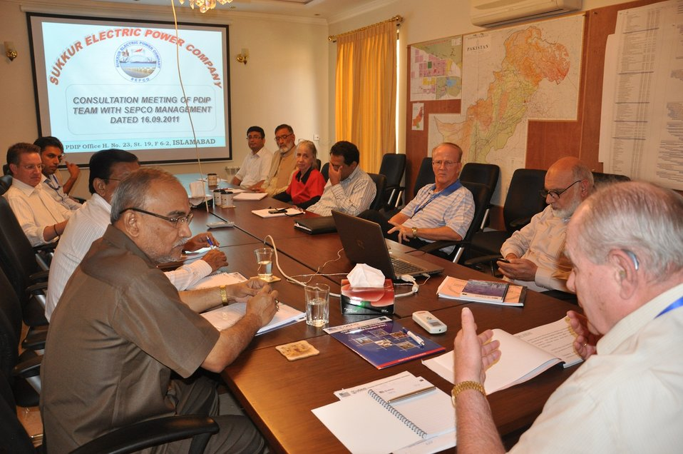 11 September, 2011 Discussion with SEPCO Management to Improve Performance