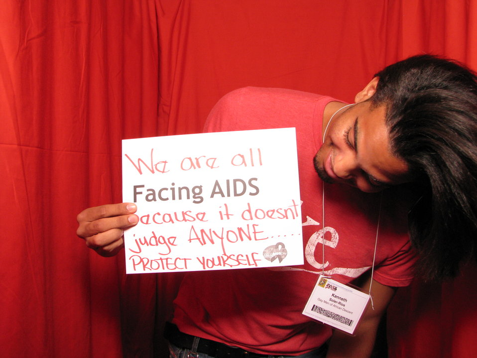 We are all FACING AIDS because it doesn't judge ANYONE... PROTECT YOURSELF.