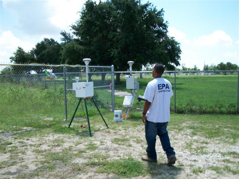 EPA Air Sampling Stations