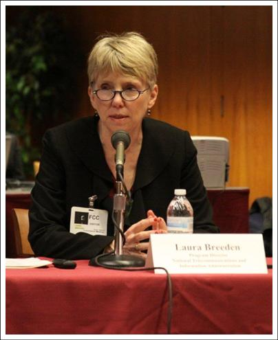 Laura Breeden, Moderator