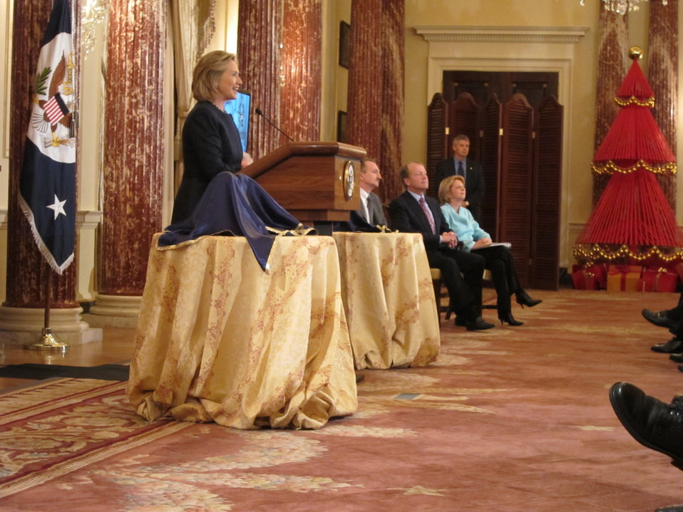 Secretary Clinton Delivers Remarks at the ACE Award Ceremony