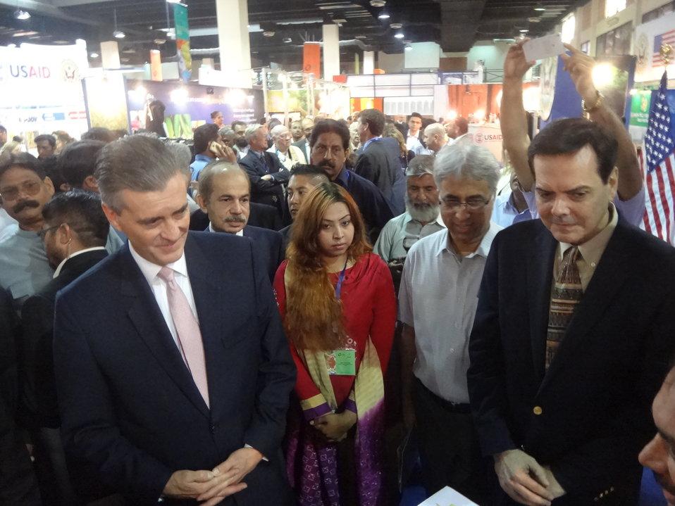 US Ambassador's visit to The Agribusiness Project at TDAP Expo, Karachi, September 27, 2013 (2)
