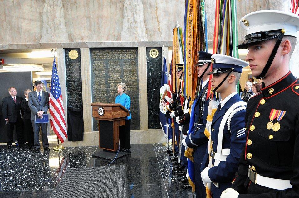 Secretary Clinton on Foreign Affairs Day