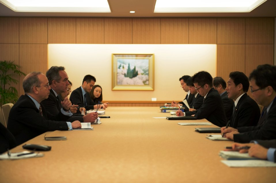 Assistant Secretary Campbell and National Security Council Senior Director Russel Meet With Japanese Foreign Affairs Minister Kishida