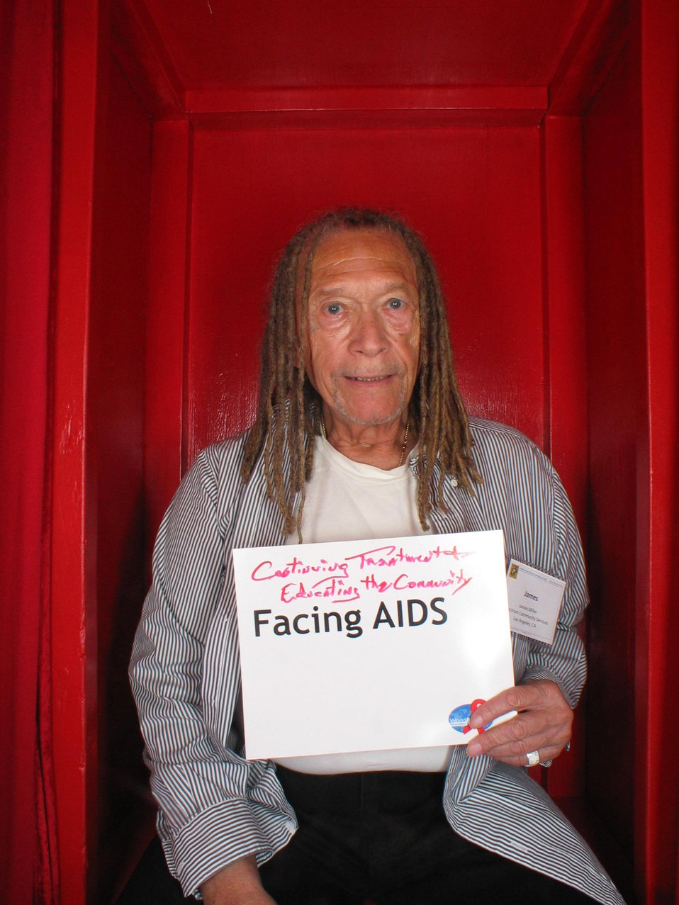Facing AIDS...educating the community