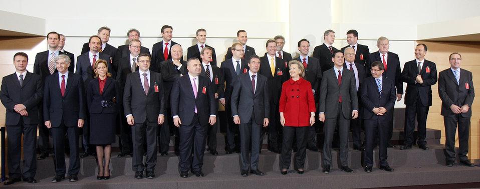 Official Portrait at NATO Headquarters
