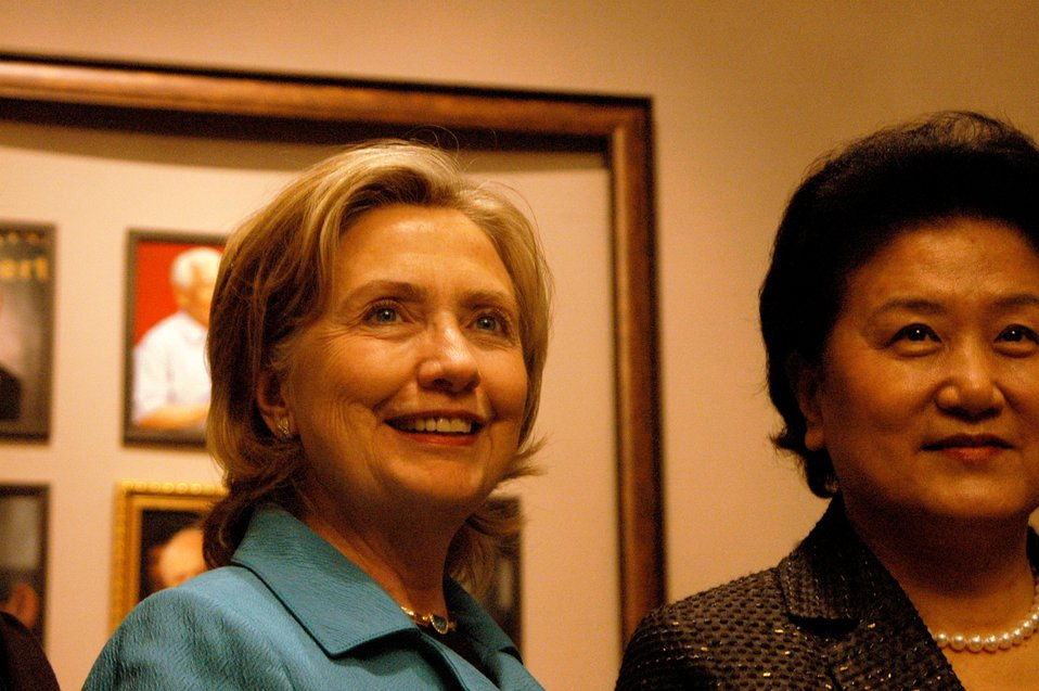 Secretary Clinton and Chiense State Councilor Liu Yandong Meet With Chinese Women Civil Society Leaders