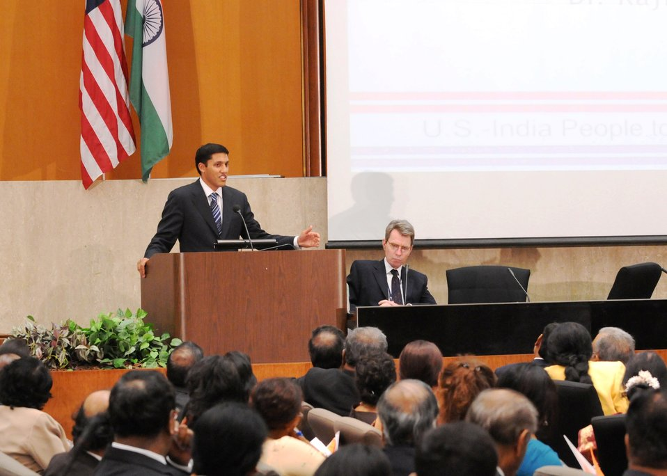 USAID Administrator Shah Delivers the Keynote Address