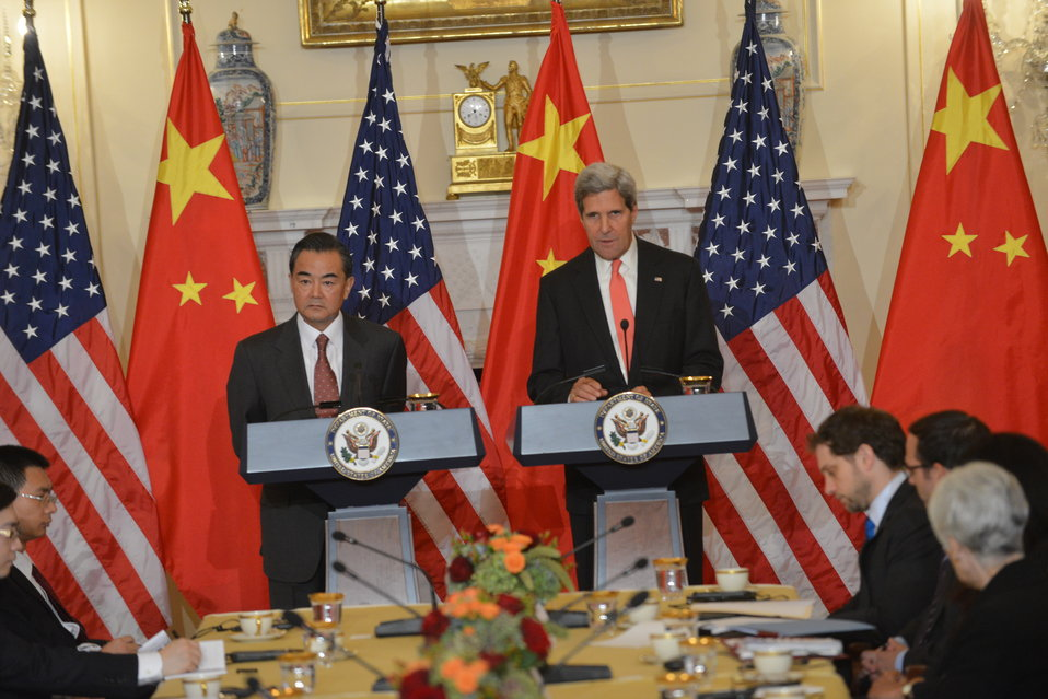 Secretary Kerry and Chinese Foreign Minister Wang Yi Deliver Remarks
