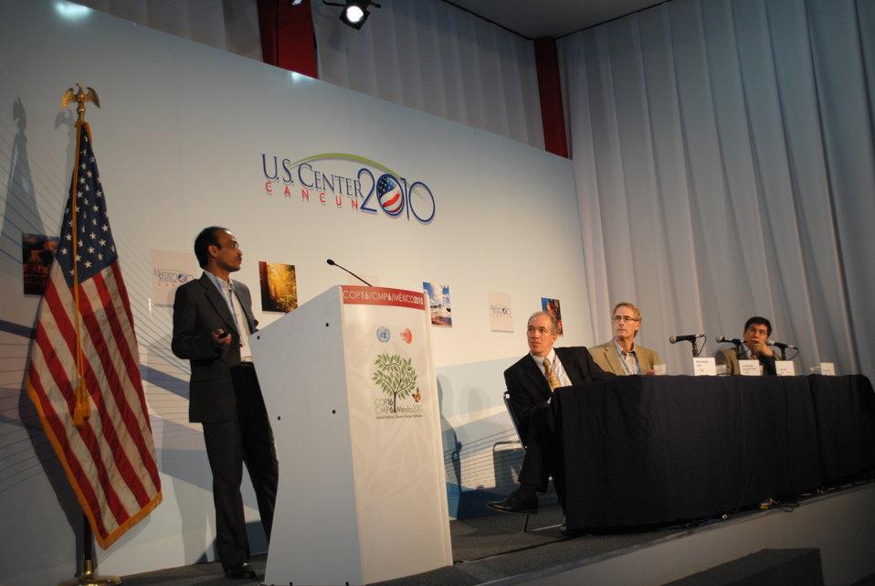 Dr. Islam Addresses the U.S. Center
