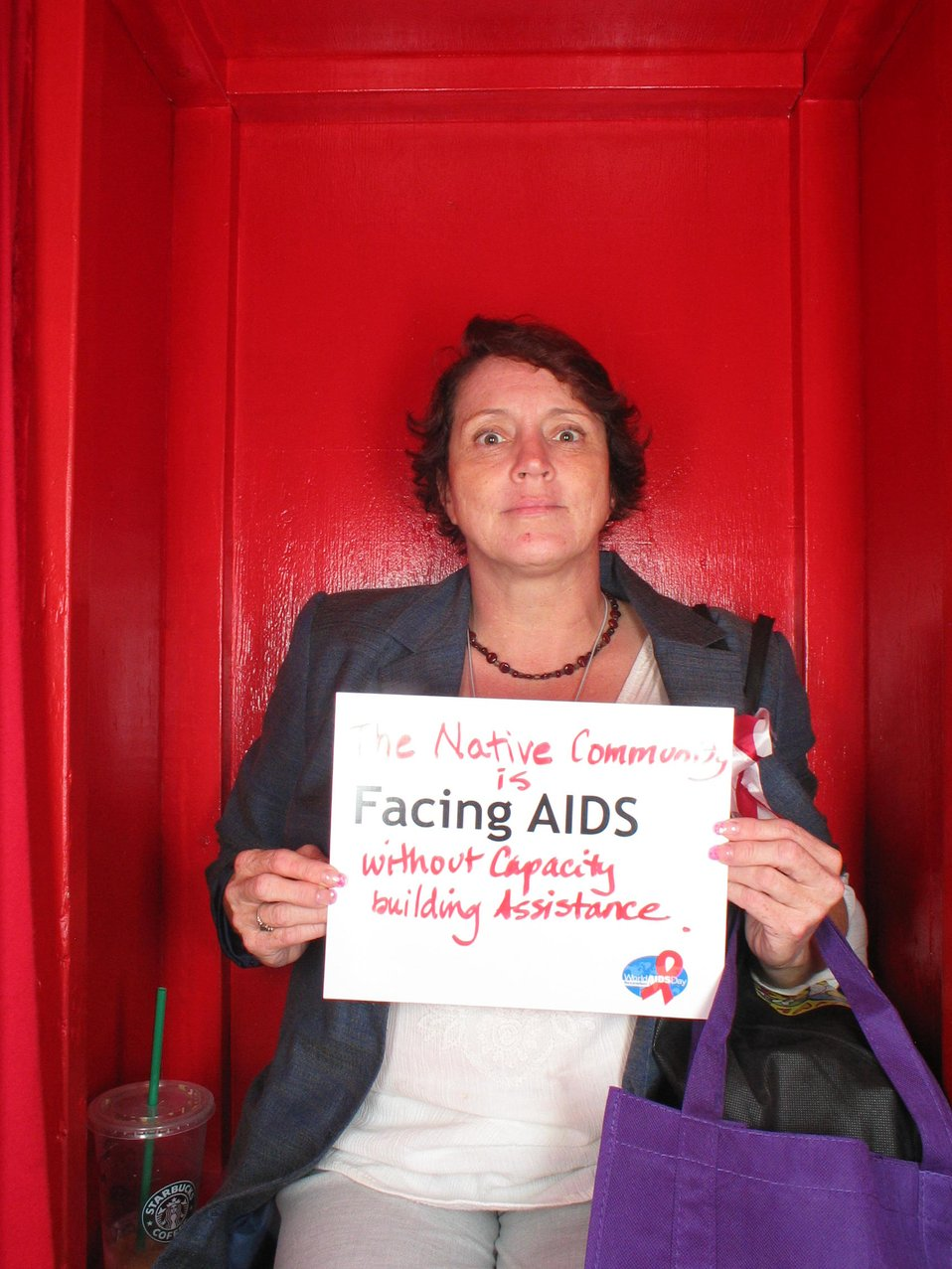The native community is Facing AIDS without capacity building assistance.