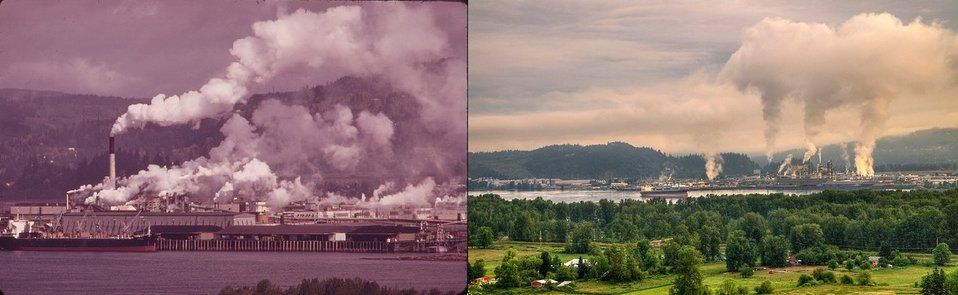 Columbia River 1973 and 2012