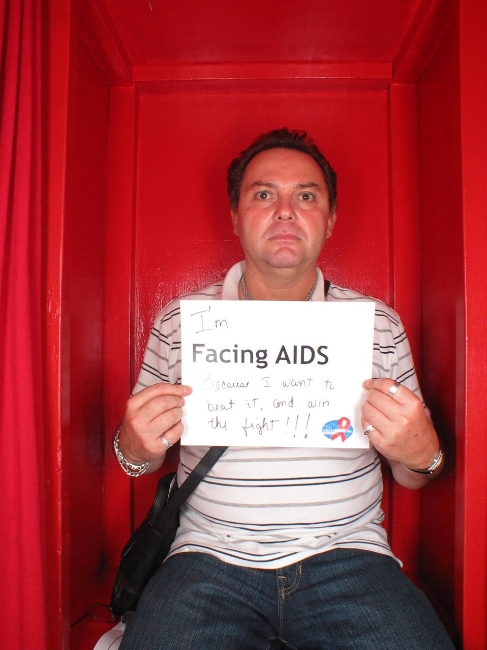 I'm Facing AIDS because I want to beat it and win the fight!!!