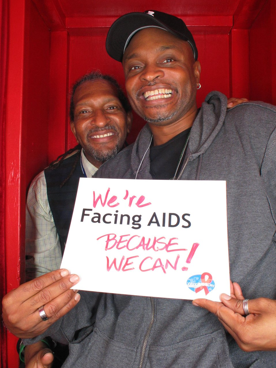 We're Facing AIDS because we can.
