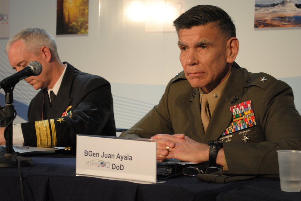 Brigadier General Ayala Responds to a Question