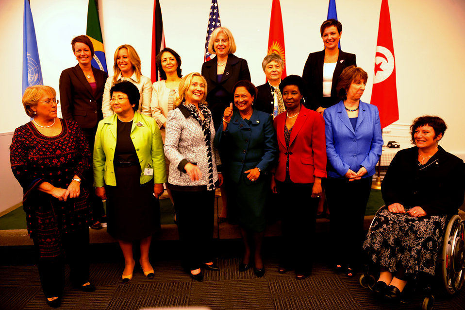 Secretary Clinton Delivers Remarks at an Event Hosted By UN Women on Women's Political Participation