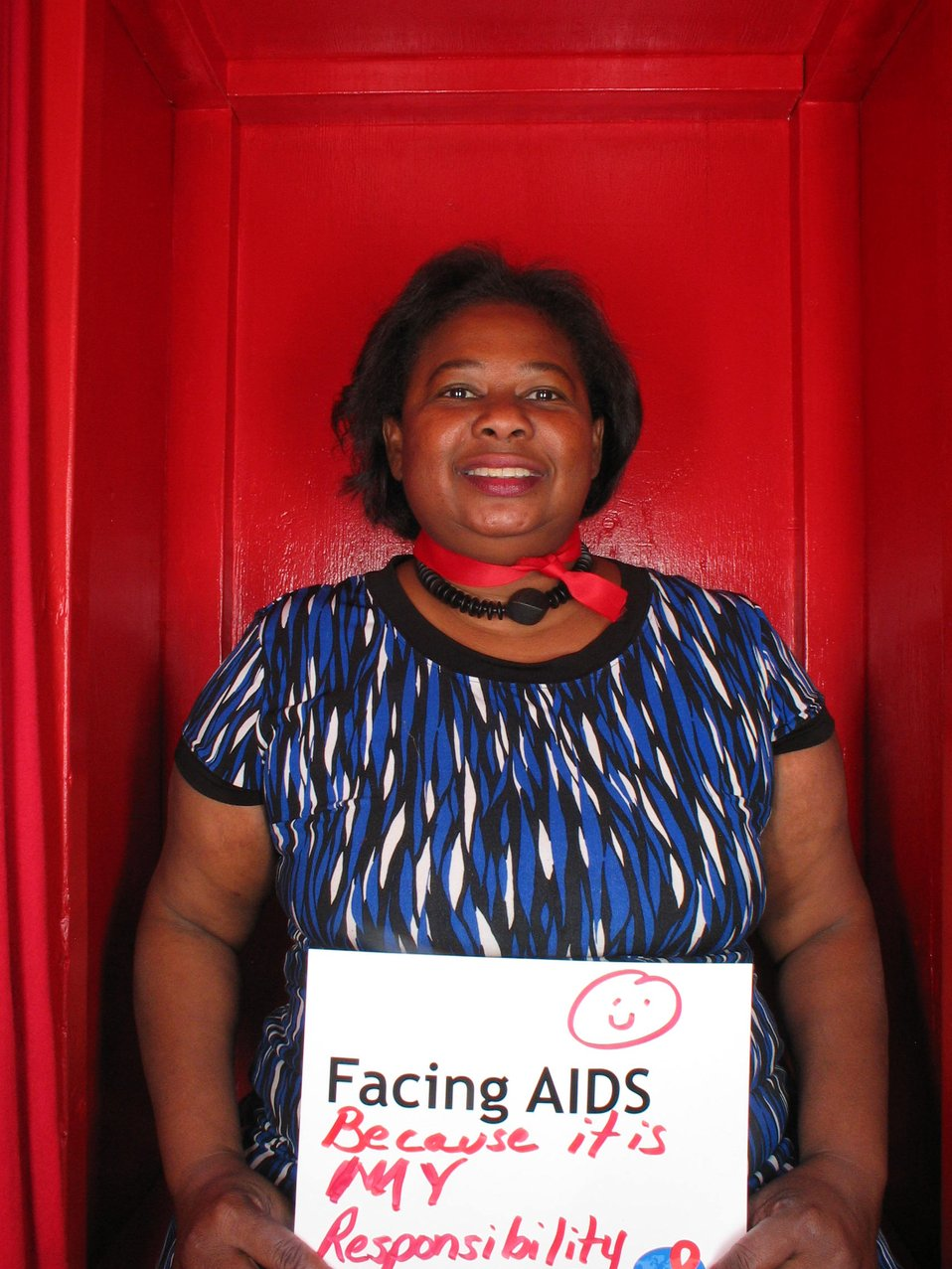 Facing AIDS because its my responsibility