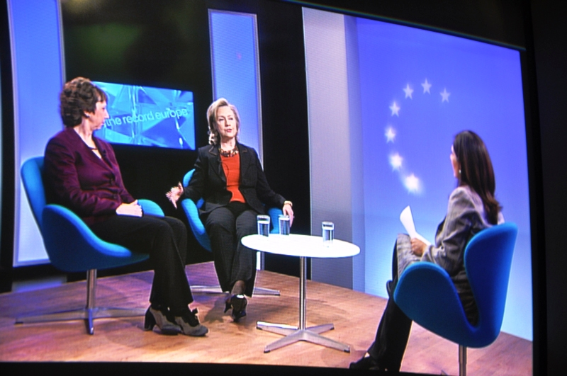 Secretary Clinton and EU High Representative Ashton Participate in a Joint BBC Interview