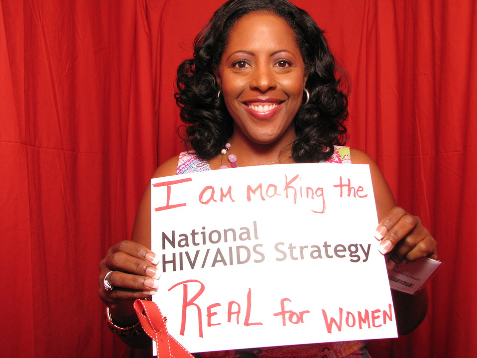 I am making the National HIV/AIDS Strategy Real for Women