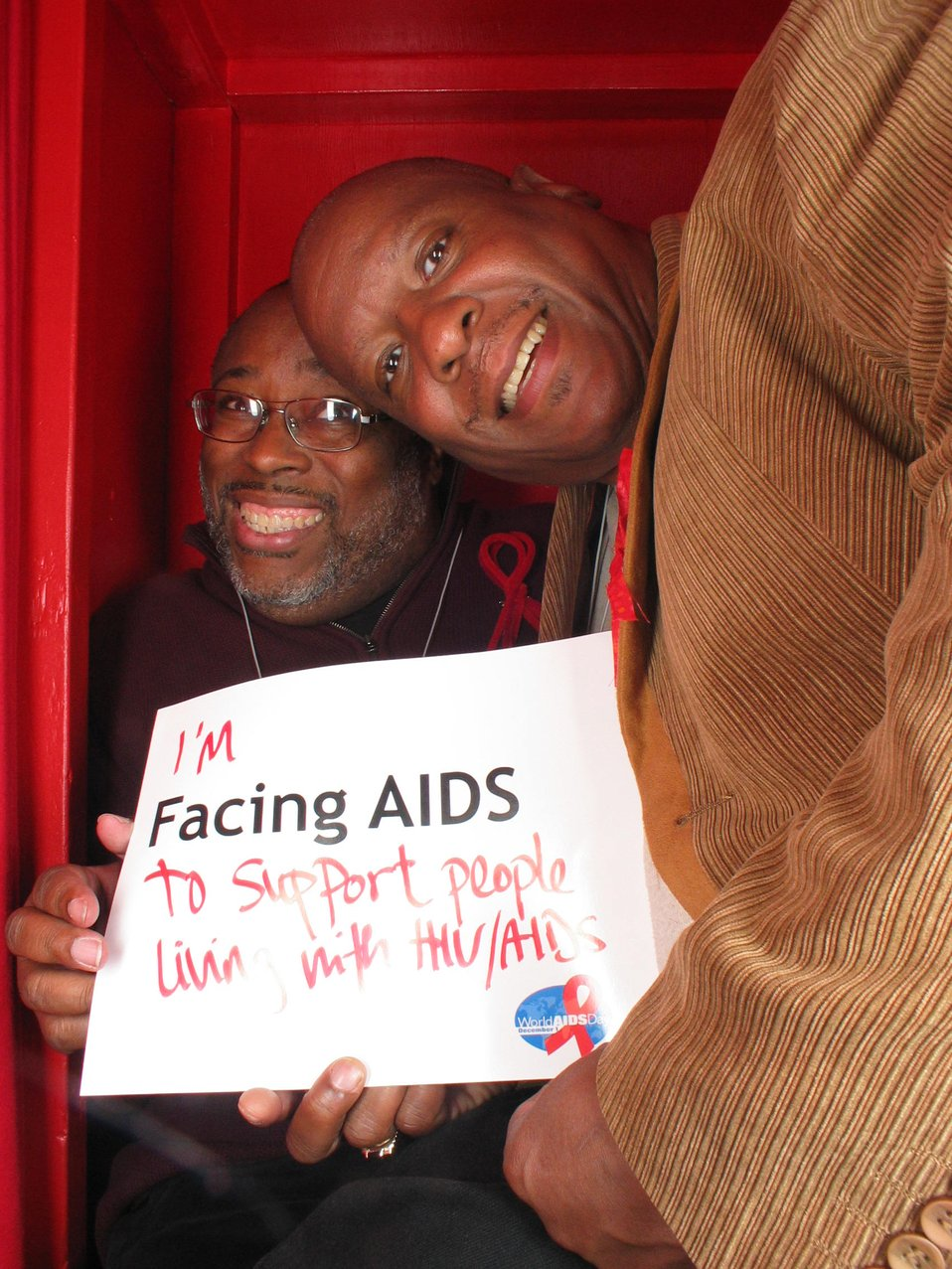 I'm Facing AIDS to support people living with HIV/AIDS