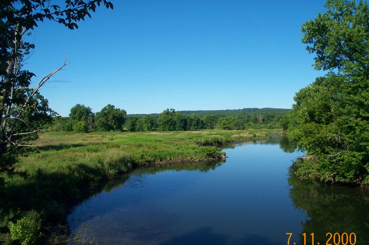 (Earlier photo) July 2000, Scenic Housatonic River