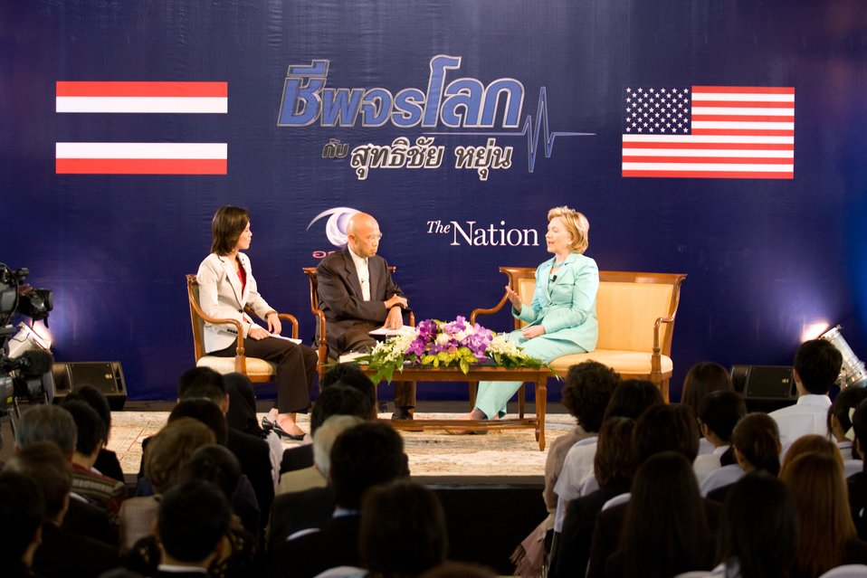 Secretary Clinton Interviews With the Nation Group