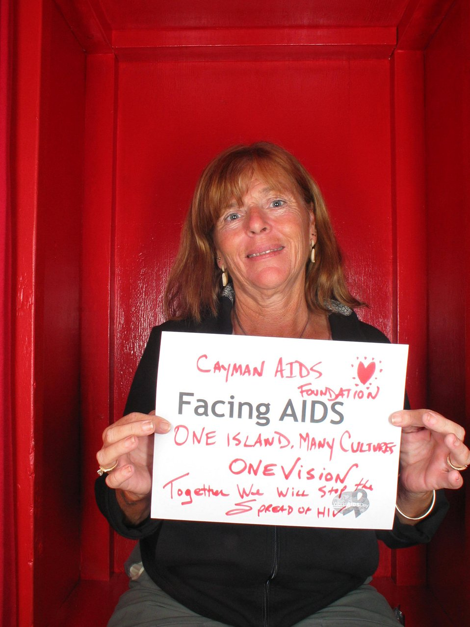 Facing AIDS One Island, Many Cultures, Together we will stop the spread of HIV