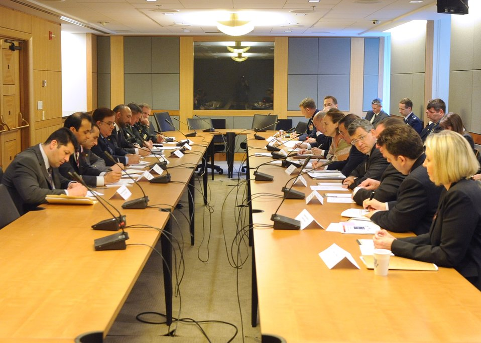 Security Working Group Session of the U.S.-Afghanistan Strategic Partnership Dialogue