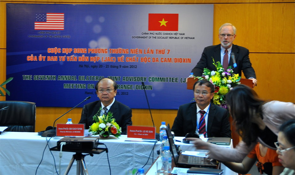 U.S. Ambassador David B. Shear at the Seventh U.S.-Vietnam Advisory Committee Meeting (JAC)