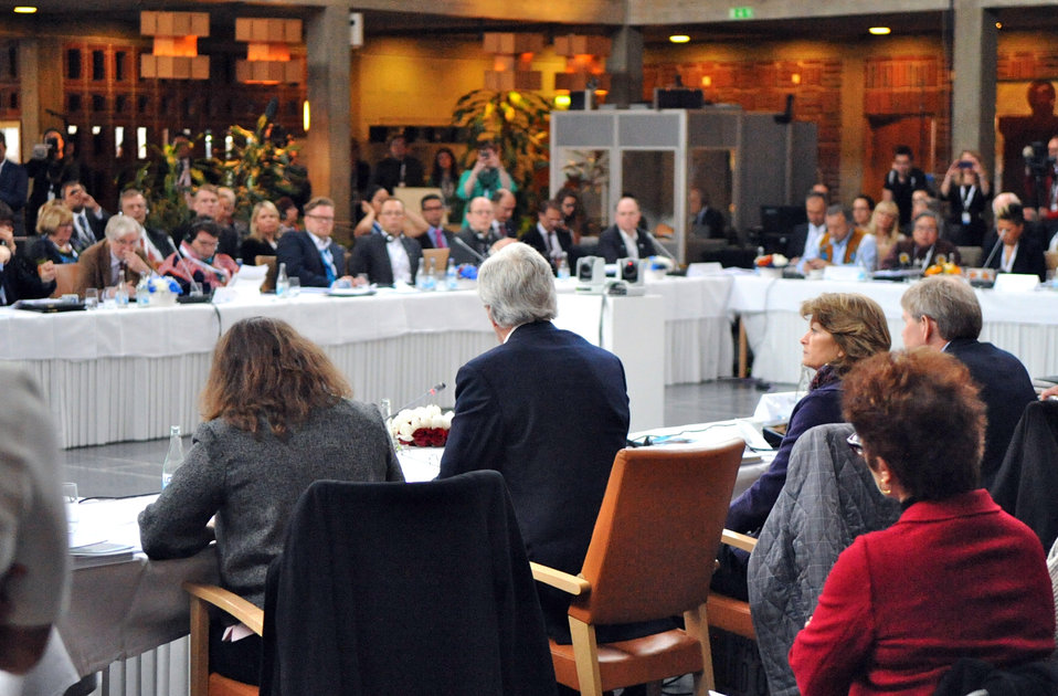 Secretary Kerry Addresses the Eighth Arctic Council Meeting