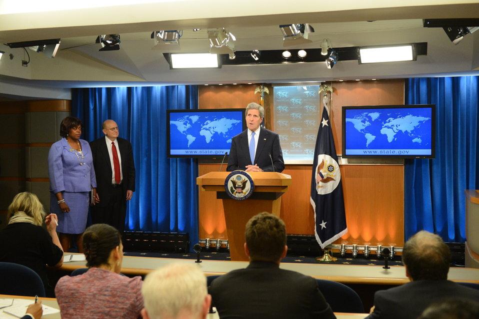 Secretary Kerry Releases the 2012 International Religious Freedom Report