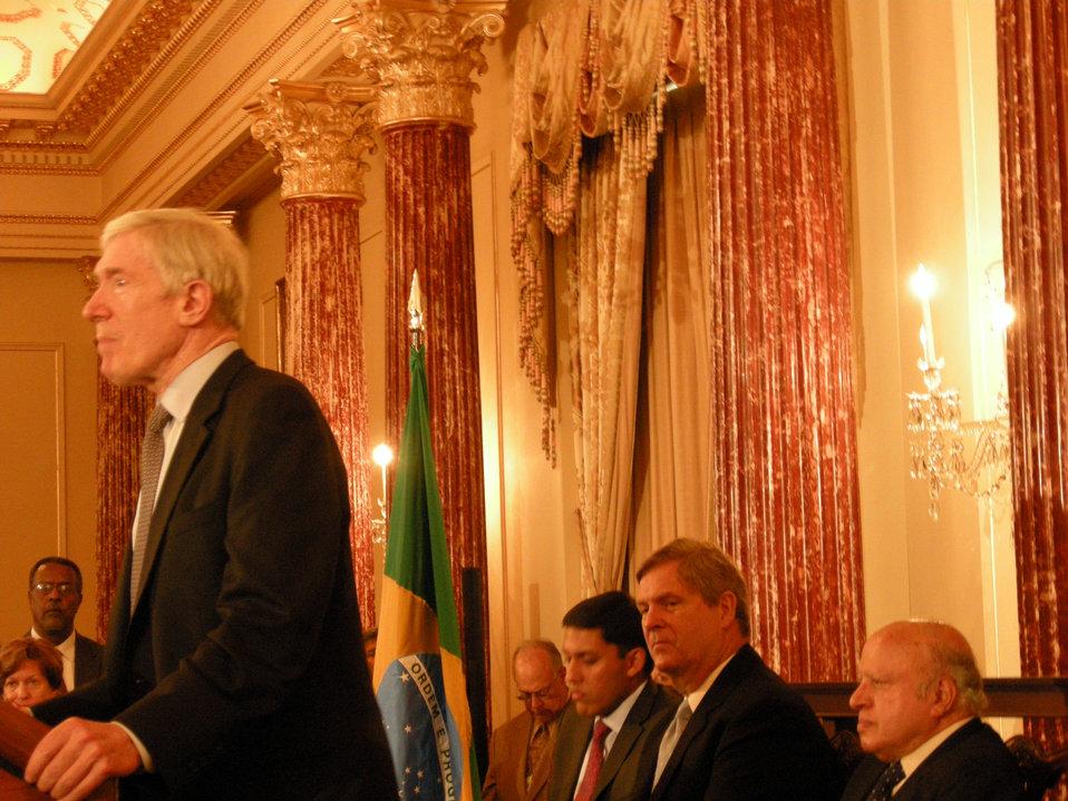 Under Secretary Hormats Honors World Food Prize Recipients