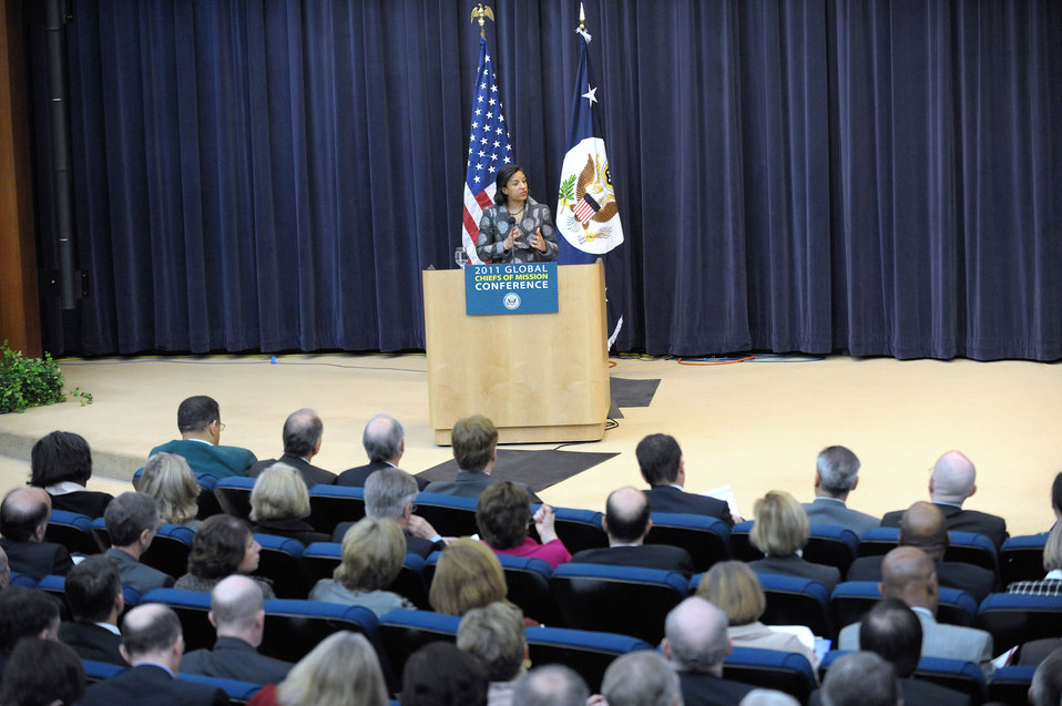 Ambassador Rice Delivers Remarks
