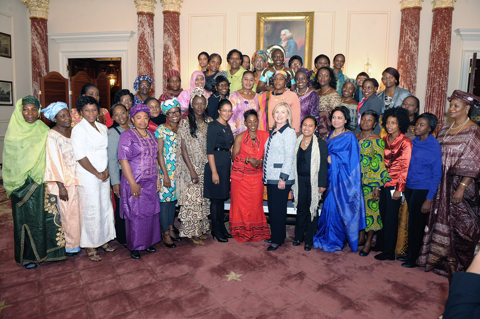 Secretary Clinton Meets With African Women Entrepreneurs