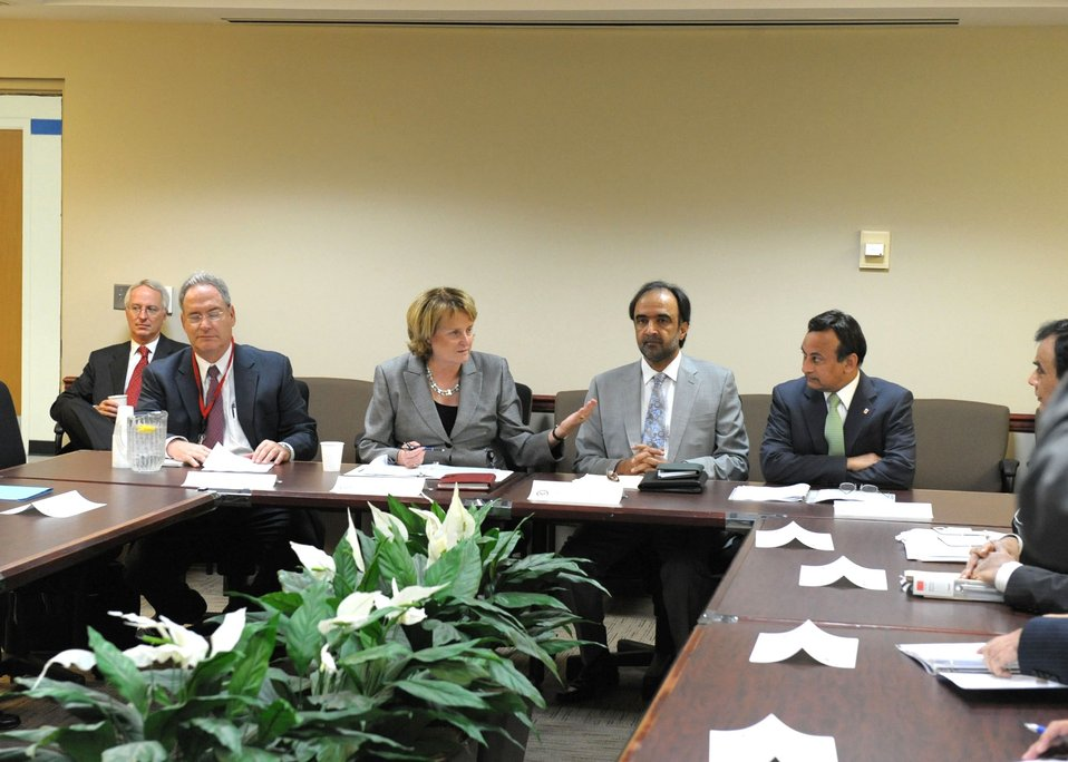 Under Secretary McHale Leads the U.S.-Pakistan Strategic Dialogue Communications Working Group