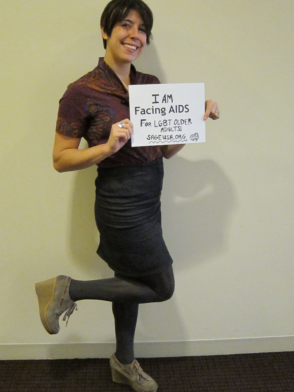 I am Facing AIDS for LGBT older adults. www.sageusa.org