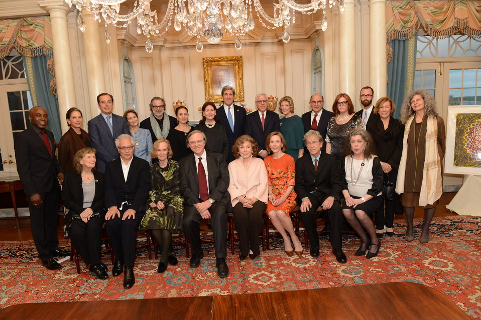 Secretary Kerry at the Annual Foundation for Arts and Preservation in Embassies Dinner