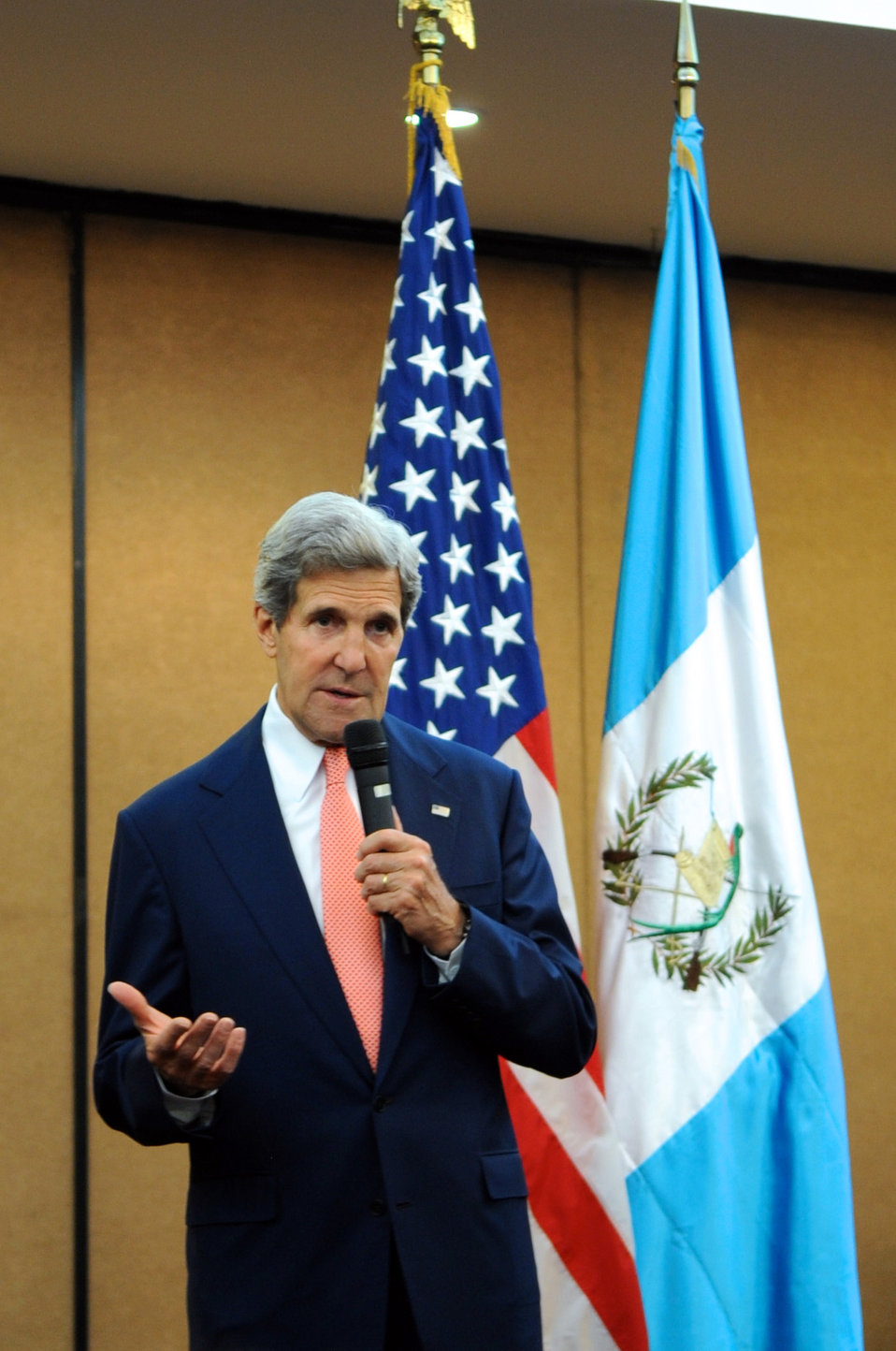 Secretary Kerry Addresses Embassy Guatemala City Staff