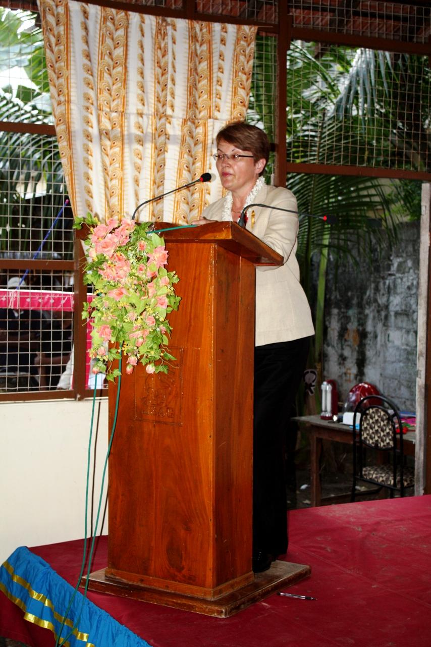 Ambassador Butenis Delivers Remarks